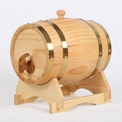 廠家直銷橡木酒桶定製實木葡萄酒桶