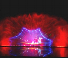 2017 India Dal Lake Digital Water Screen Movie Fountain with Laser