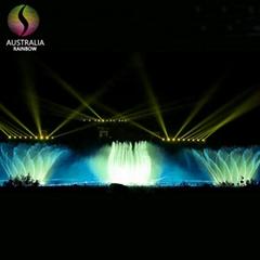 2017 Huangguoshu National Park 110*30 Meters Large Musical Water Fountain Design