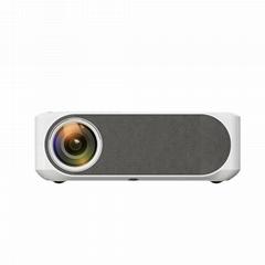 銳影M19投影儀家用辦公全高清1080p安卓無線wifi投影機4K智能家庭影院
