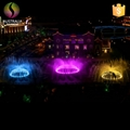 Outdoor 1D 2D 3D Water Music Dancing Fountain with DMX 512 LED Light Show 4