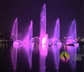 Lake Floating Music Dancing Water Fountain with Color Changing LED Lights  3