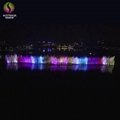 Lake Floating Music Dancing Water Fountain with Color Changing LED Lights  5