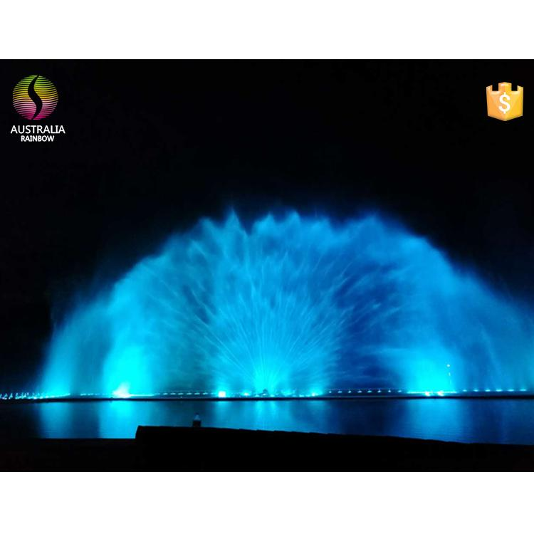 Lake Water Curtain Projection Laser Musical Dancing Fountain in India 2
