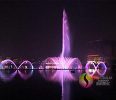 New Customized Design and Construction Floating Music Water Fountain