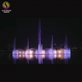 New Customized Design and Construction Floating Music Water Fountain 5