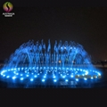 Hidden in Ground Pool Dry Fountain with Music and Colorful LED Lights 2