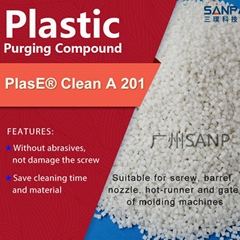 SANP purging compound for extrusion machine HDPE LDPE color change