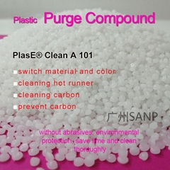 SANP purging compound for extrusion machine EVA carbide cleaning & prevention