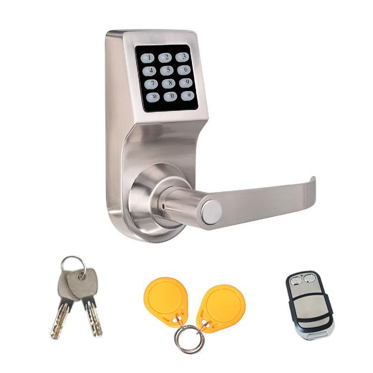 智能家居密碼遙控鎖 遙控電子鎖 辦公球形替換四合一密碼鎖 1