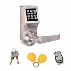 智能家居密碼遙控鎖 遙控電子鎖 辦公球形替換四合一密碼鎖