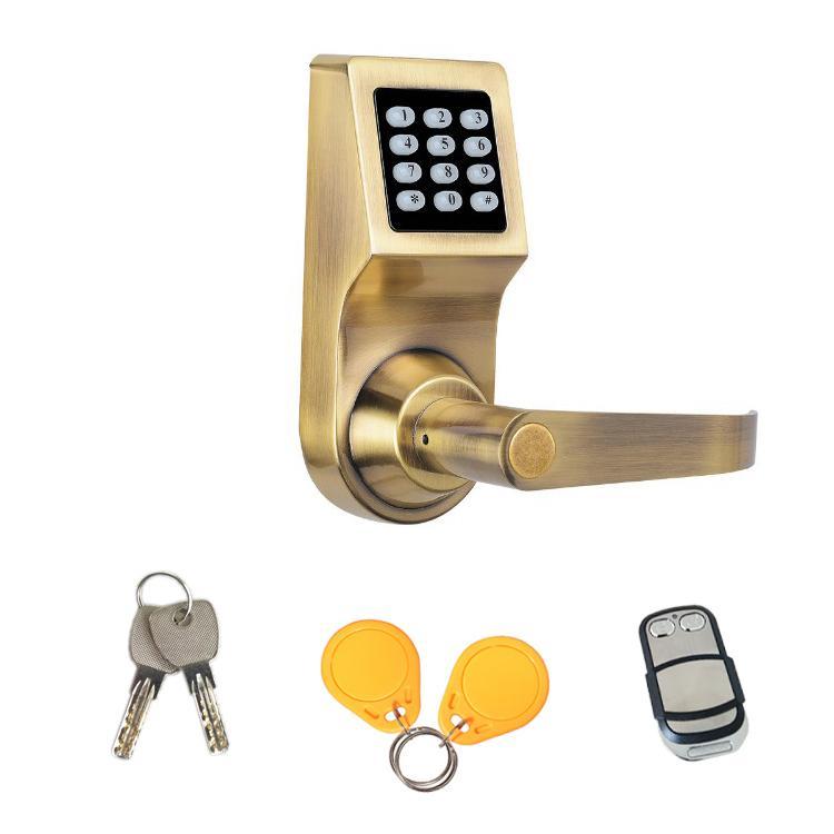 智能家居密碼遙控鎖 遙控電子鎖 辦公球形替換四合一密碼鎖 2