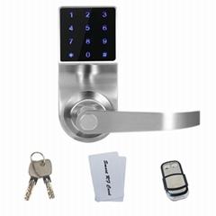 廠家熱銷智能觸屏電子密碼鎖 海外爆款智能鎖 Samrt lock