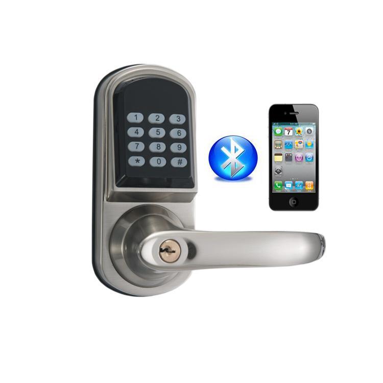 智能APP藍牙密碼鎖 酒店民宿智能電子藍牙TTlock室內木門鎖 1