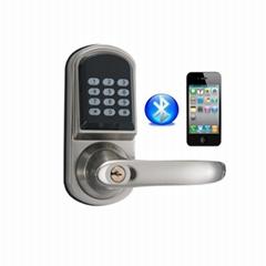 智能APP藍牙密碼鎖 酒店民宿智能電子藍牙TTlock室內木門鎖