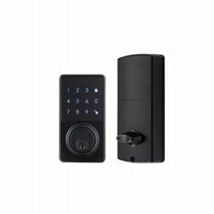 WS-815B家居室內門鎖 現代簡約電子觸摸屏密碼鎖