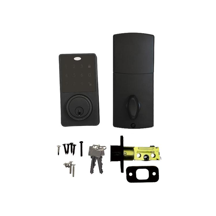 WS-815B家居室內門鎖 現代簡約電子觸摸屏密碼鎖 5