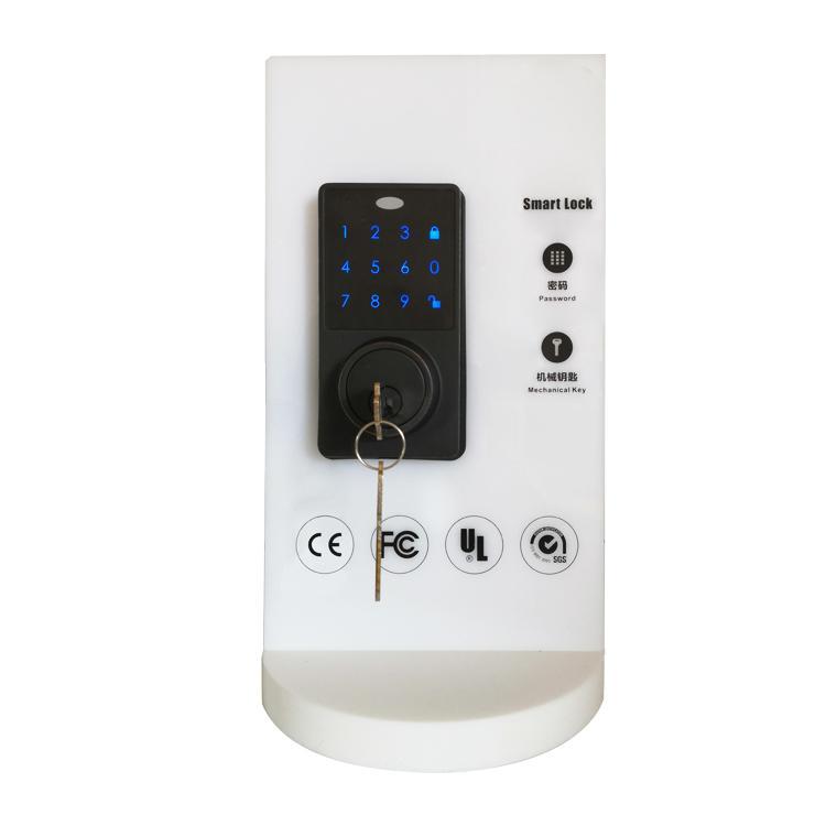 WS-815B家居室內門鎖 現代簡約電子觸摸屏密碼鎖 6
