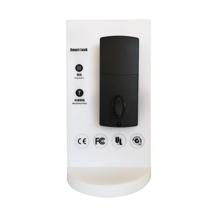 WS-815B家居室內門鎖 現代簡約電子觸摸屏密碼鎖 8