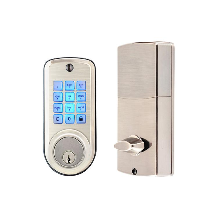 WS-815B家居室內門鎖 現代簡約電子觸摸屏密碼鎖 11