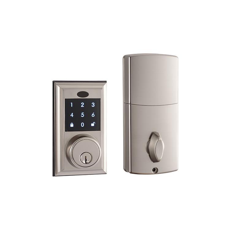 WS-815B家居室內門鎖 現代簡約電子觸摸屏密碼鎖 13