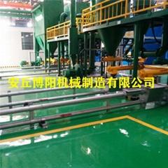 博陽粉煤灰管鏈輸送機