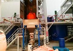 山東噸袋投料站 催化劑噸袋密閉裝料卸料系統