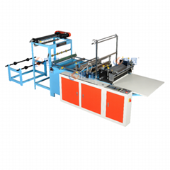 Best sale computer high speed heat-sealing & cold-cutting bag making machine
