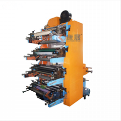 Full automatic high production flexographic printing machine