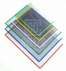 防靜電彩邊硬膠套防靜電彩框卡套防靜電文具供應