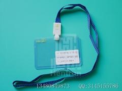 High transparent PVC sheet card holder with Antistatic Logo