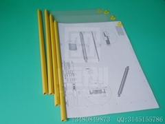 Anti-static A4 pull clip report cover ,Document folder paper file folder