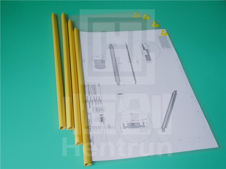 Anti-static A4 pull clip report cover ,Document folder paper file folder  4
