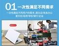 图文广告店印照片的画册印刷机