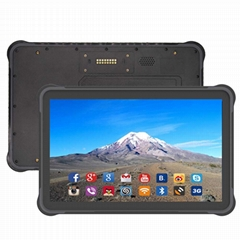 10 inch android 7.0 rugged tablet with 3G RAN 32G rom 4G lte