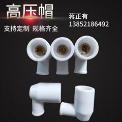 Ceramic high pressure cap