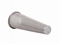 Stainless Steel Temporary Cone Basket & Flat Strainer Filter