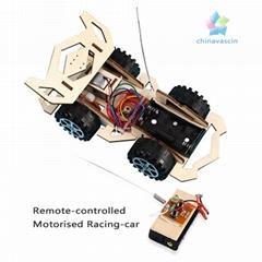 educational toy DIY Remote-controlled Motorised Racing-Car