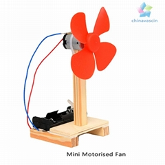 educational toy DIY Mini Electric Fan