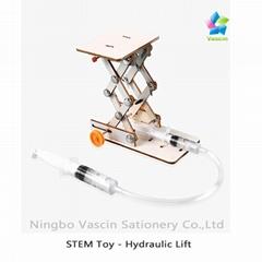 DIY Hydraulic Lift Science Kit