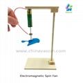 DIY Electromagnetic Spinning Fan Science