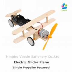 DIY Electric Glider Plane Taxiing Aircraft(Single Propeller)