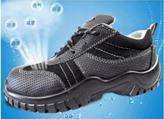 夏季透气防臭耐油劳保鞋