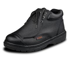 防滑中帮劳保鞋