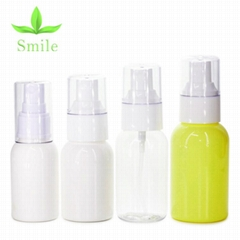 high  quality mini capacity plastic PET material lotion bottle for sample use