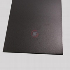 高比噴砂不鏽鋼深黑色 電梯彩色不鏽鋼門板