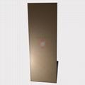 高比喷砂玫瑰金不锈钢板 会所金属装饰材料 2