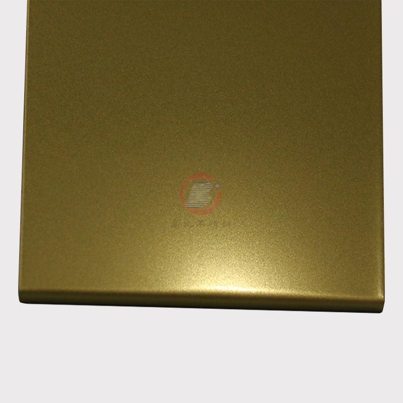 高比钛金打砂不锈钢板  环保不锈钢真空镀厂家 1