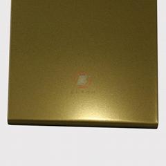高比钛金打砂不锈钢板  环保不锈钢真空镀厂家