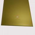 高比钛金打砂不锈钢板  环保不锈钢真空镀厂家 4